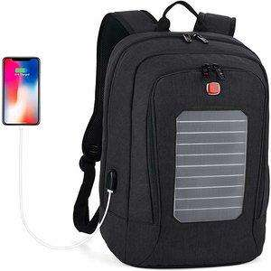 Laptop Backpack, Fanspack Solar Powered pack