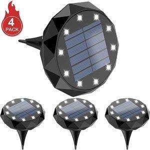 Leknes Solar Ground Lights