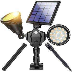 ROSHWEY Outdoor Solar Spotlights