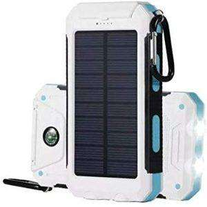 Dualpow Portable Dual USB Solar Battery Charge