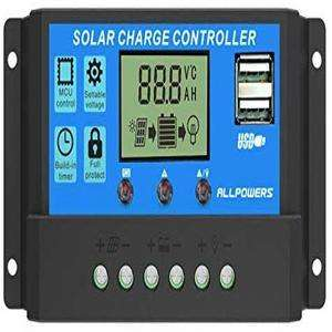 ALLPOWERS 20A Solar Charger Controller.