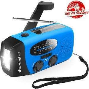 RunningSnail Emergency Hand Crank Solar Radio