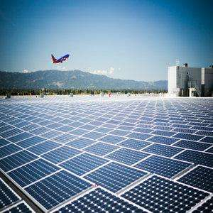 Solar Powered Airport- India