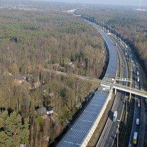 Solar Powered Train Tunnel – Belgium