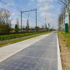 Solar Bike Path – the Netherlands