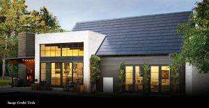 Tesla solar roof shingle