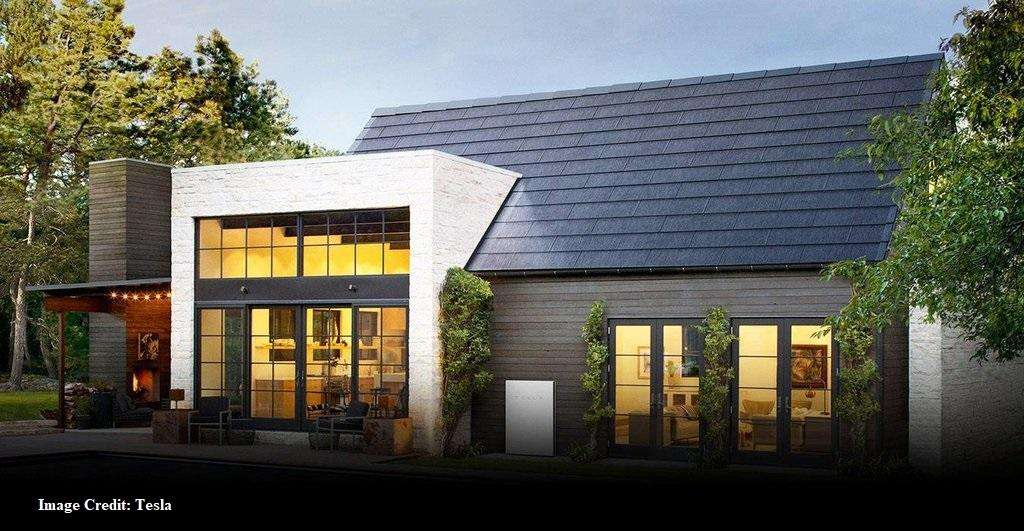 Tesla solar roof shingle