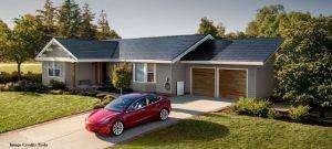 Tesla solar power shingles