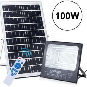 APONOU Solar Powered Floodlights
