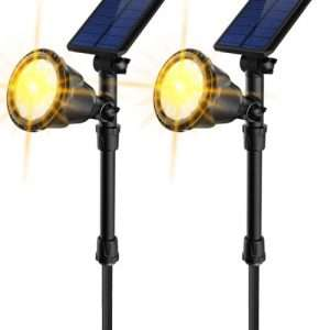 JSOT Outdoor Solar Spotlights