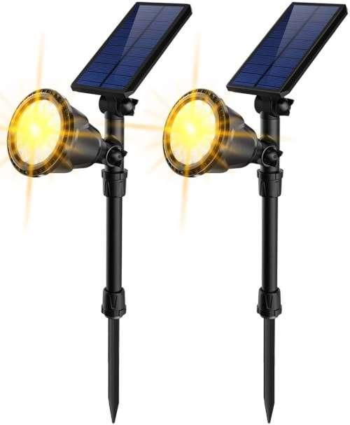 JSOT Outdoor Solar Spotlights