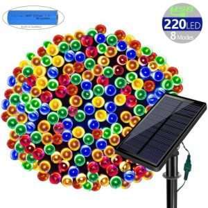 Solarmks Solar Christmas Lights