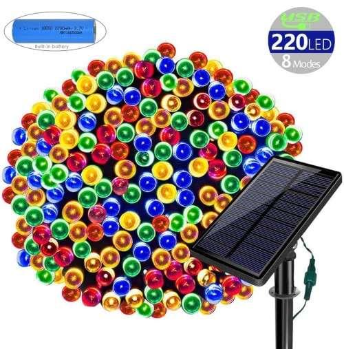 Solarmks Solar Christmas Lights