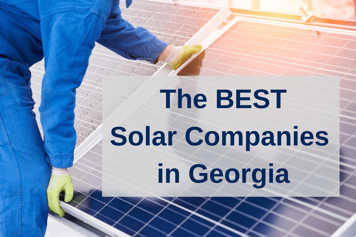 best solar companies in georgia