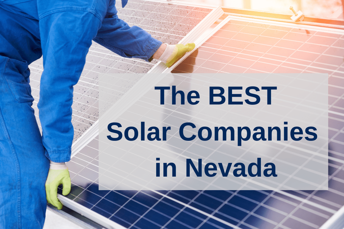 best solar companies in NV