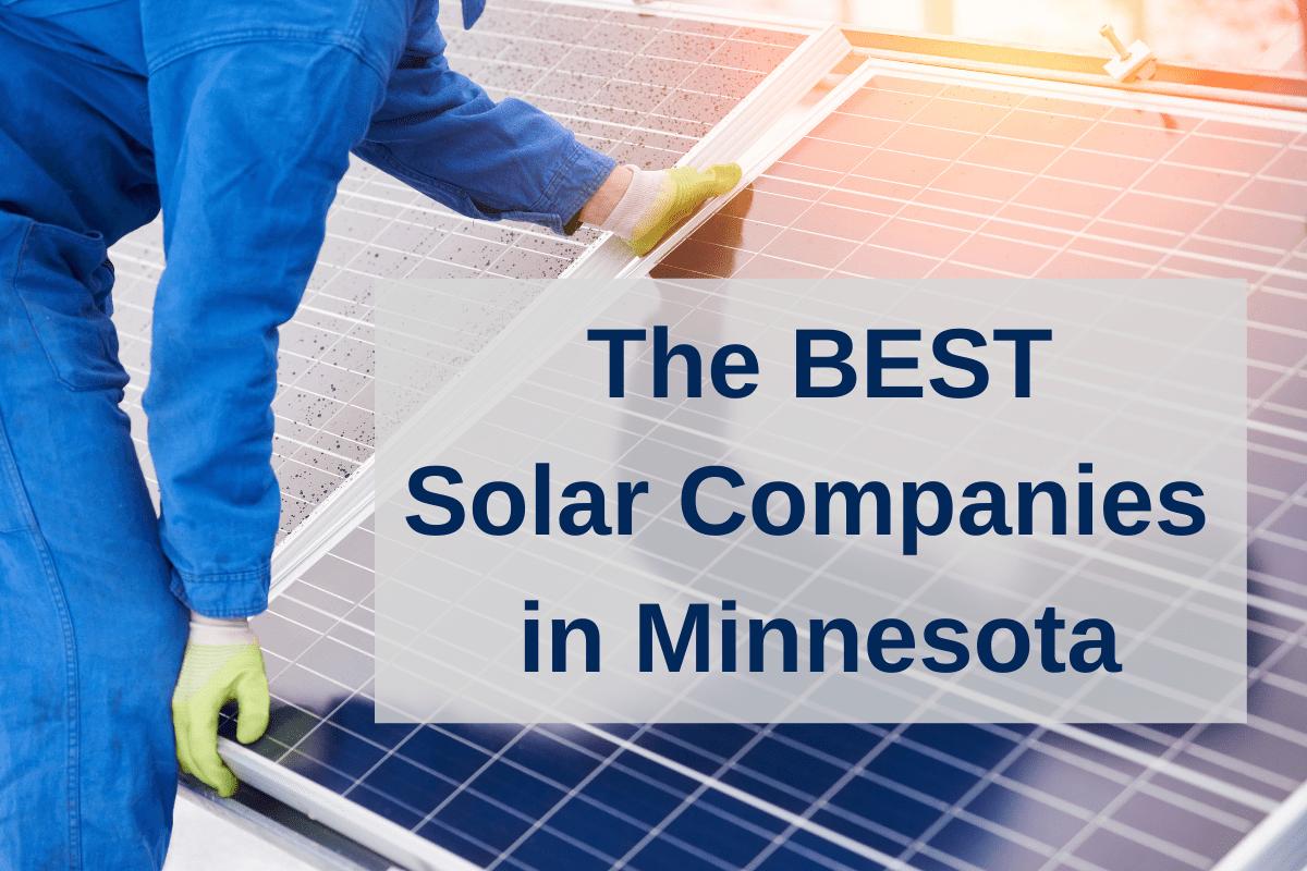 best solar companies minnesota