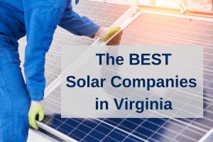 Best Solar Companies Virginia