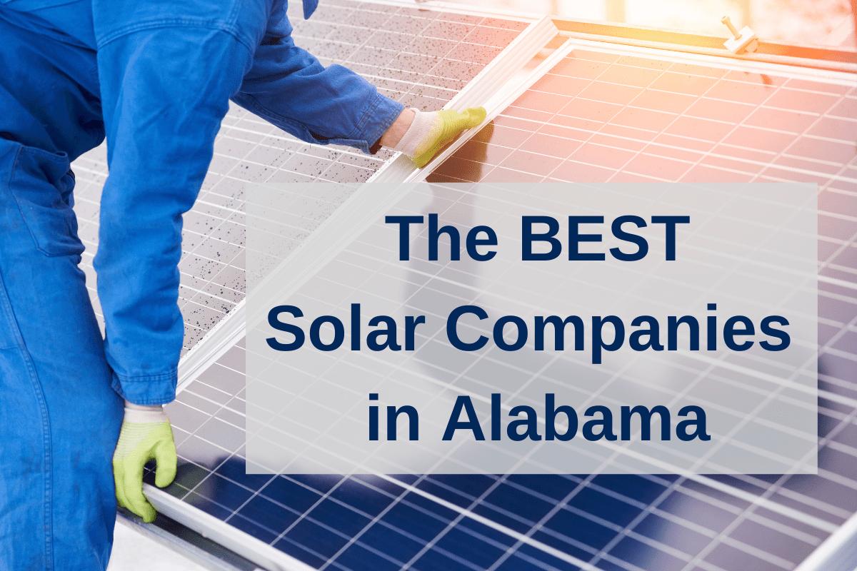 best solar companies in Alabama