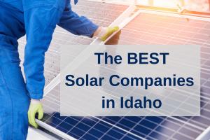 Best solar panel companies in Idaho