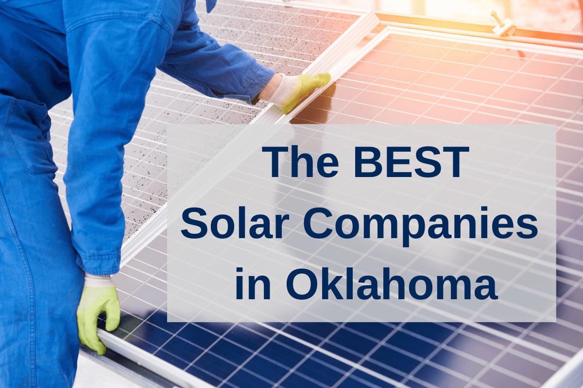 best solar companies in Oklahoma