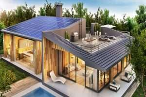 Solar-Powered Smart Homes