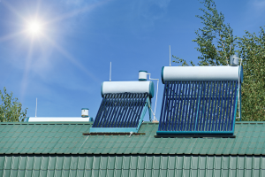 active vs passive solar water heater