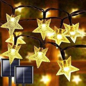 Albelt Star Solar String Lights