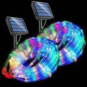 VICSOU Solar Powered String Lights